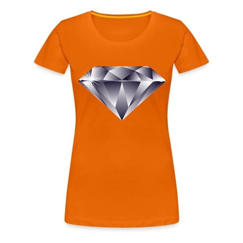 Diamond - Vrouwen Premium T-shirt