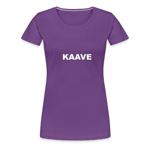 KAAVE logo merch - Premium-T-shirt dam