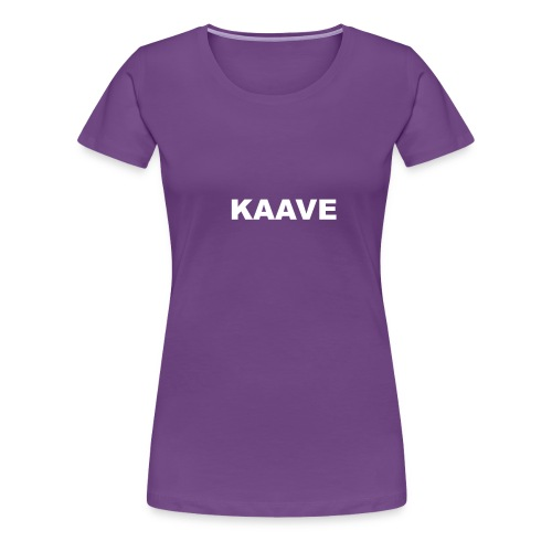 KAAVE logo merch - Premium-T-shirt dam