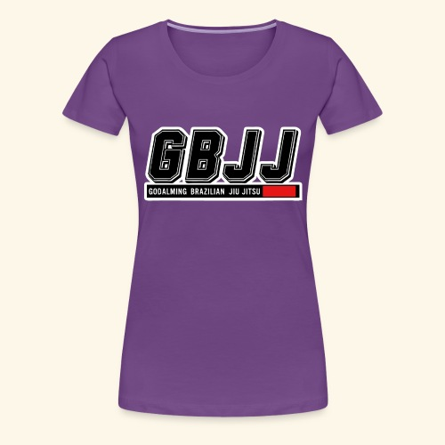 GBJJlogo3h - Women's Premium T-Shirt