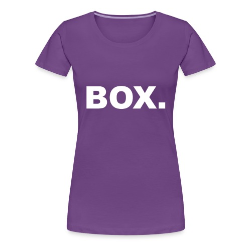 BOX. Clothing T-Shirt Men - Vrouwen Premium T-shirt