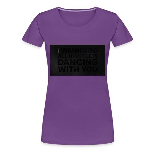 test dancing - Koszulka damska Premium