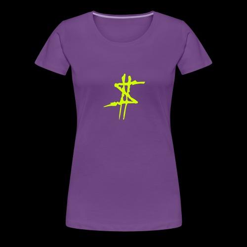 Dollarsign yellow - Premium-T-shirt dam