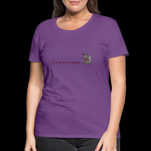 RavenWolfire Design - T-shirt Premium Femme