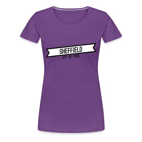 sheffield banner - Women's Premium T-Shirt