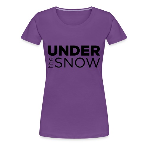Logo Under The Snow - Maglietta Premium da donna