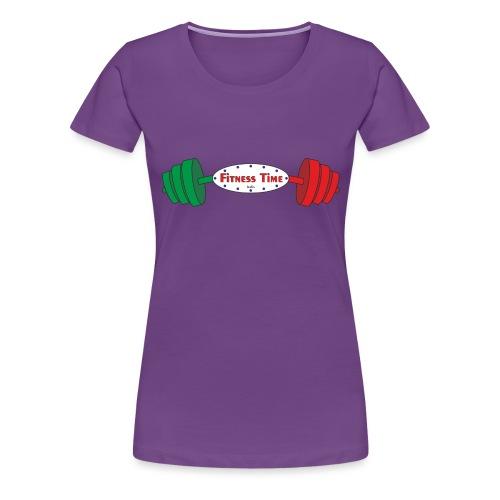 Fitness Time 17° anno - Maglietta Premium da donna