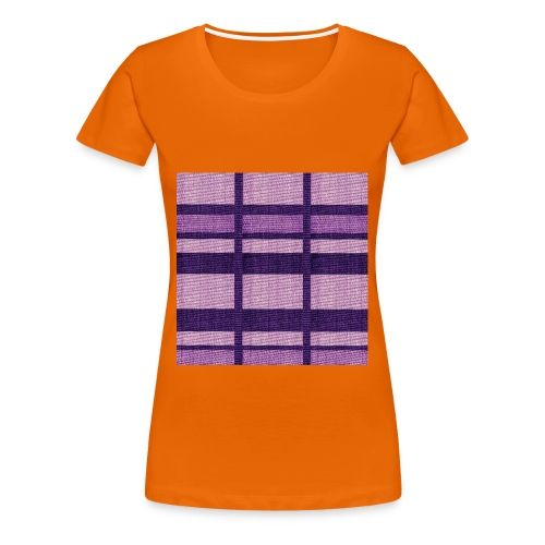 puplecolor tank top - Women's Premium T-Shirt