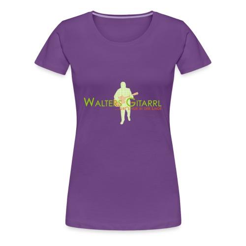 Walters Gitarrl - Frauen Premium T-Shirt