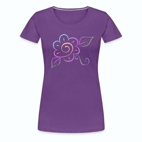 Tonalidades de en flor - Camiseta premium mujer