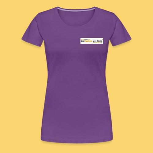 log 3 jpg - T-shirt Premium Femme
