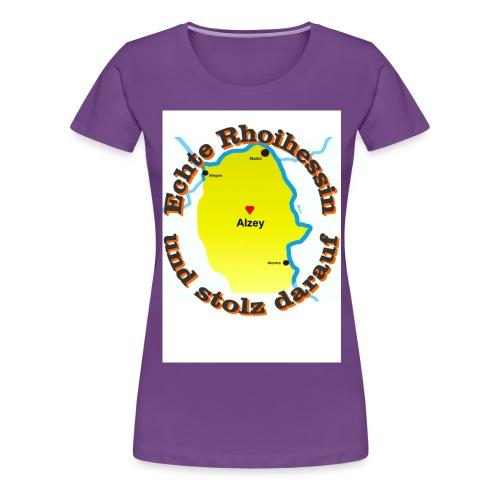 rheinhessin alzey - Frauen Premium T-Shirt