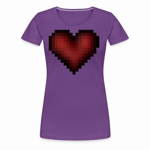 Pixxelheart - Frauen Premium T-Shirt