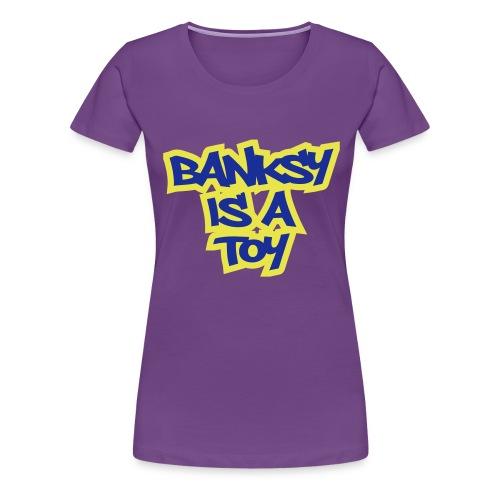 bank toy ol - Women's Premium T-Shirt