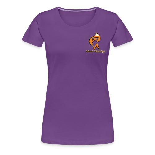 foxxie gaming logo 2 - Women's Premium T-Shirt