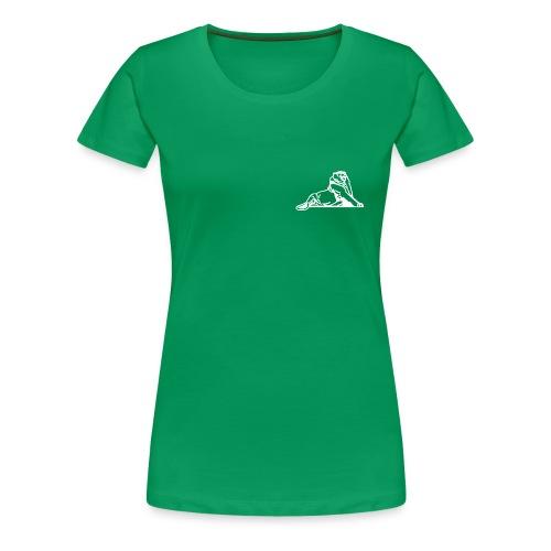 Lion de Belfort blanc - T-shirt Premium Femme
