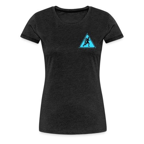 Running Man and Woman - Women's Premium T-Shirt