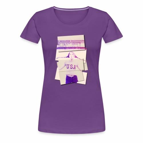 Girl usa - Women's Premium T-Shirt