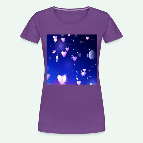 Nachthimmel quad - Anziehend anders US - Frauen Premium T-Shirt