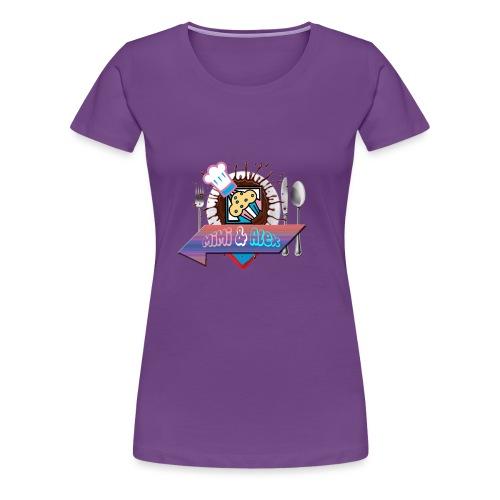Pour Les Amour fou de la Bouff - T-shirt Premium Femme