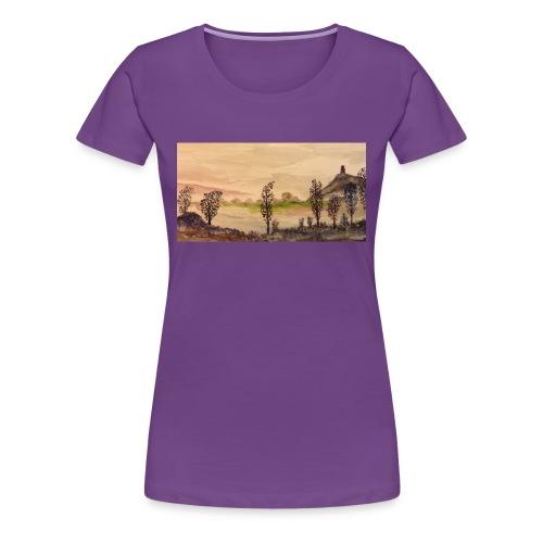 Glastonbury Tor - Women's Premium T-Shirt