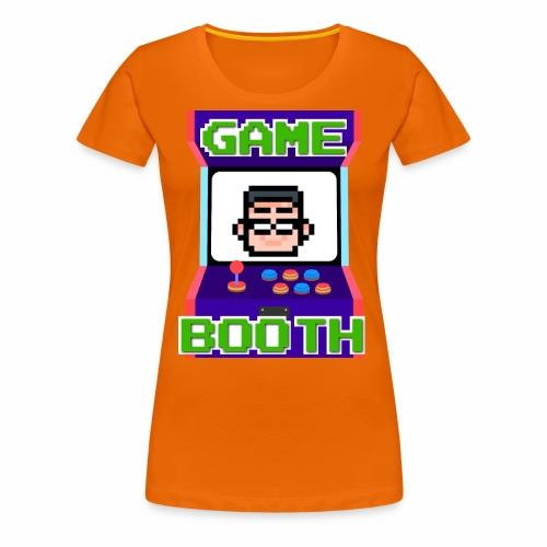 GameBooth Icon Logo - Women's Premium T-Shirt