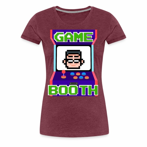 GameBooth Icon Logo - Women's Premium T-Shirt