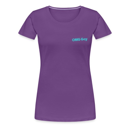 Logo Blue png - Women's Premium T-Shirt