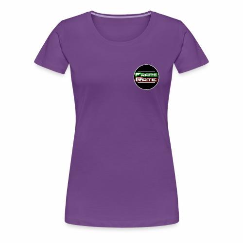 TFR Circle - Women's Premium T-Shirt