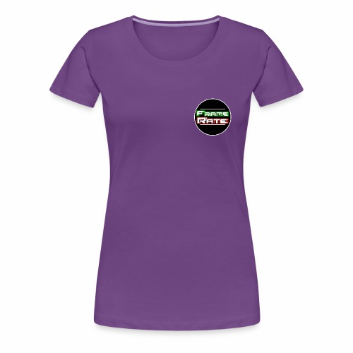 TFR Circle - Women's Premium T-Shirt