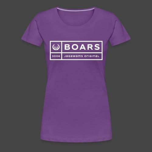 boars block 3006 - Frauen Premium T-Shirt