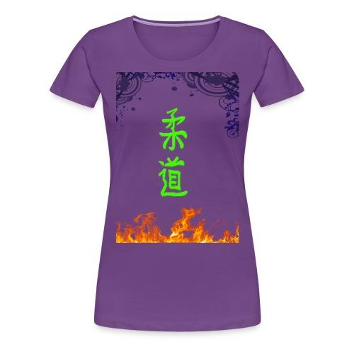 Judo On Fire - T-shirt Premium Femme