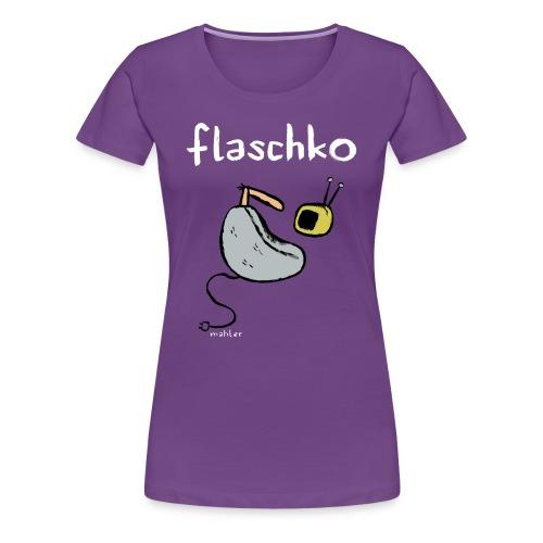 flaschko - Frauen Premium T-Shirt