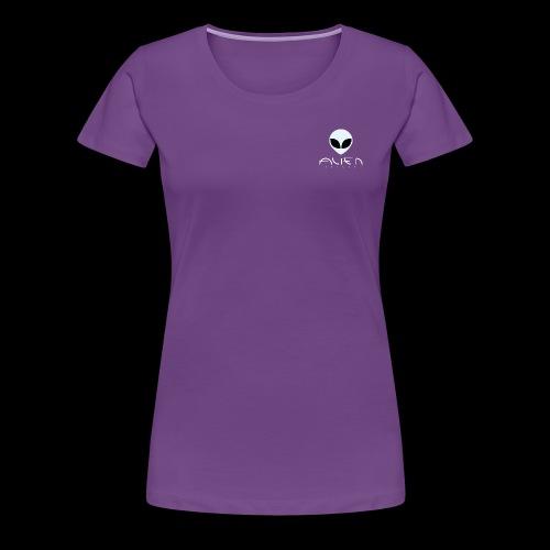 alien2 - Vrouwen Premium T-shirt