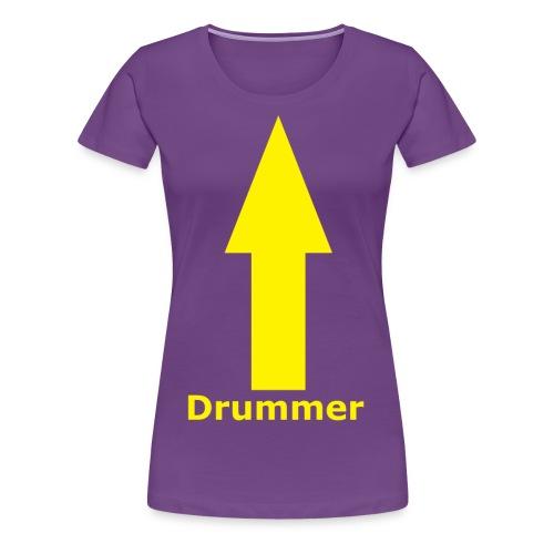 Drummer png - Women's Premium T-Shirt