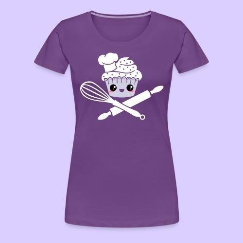 The Pirate Baker - Women's Premium T-Shirt