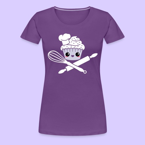The Pirate Baker - Women's Premium T-Shirt