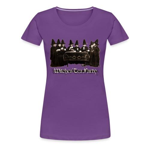Witches' Tea Party - Maglietta Premium da donna