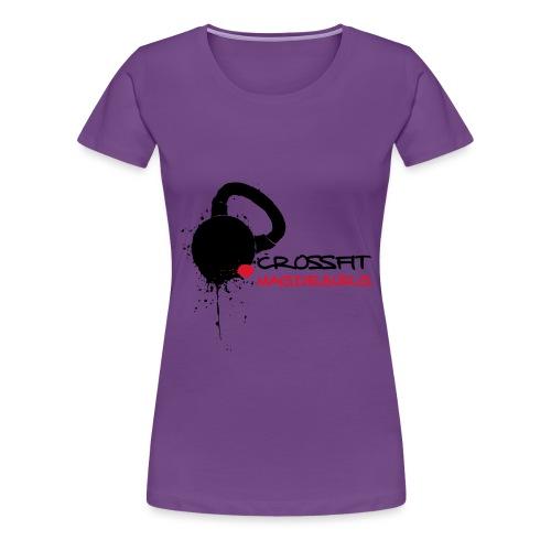 CFMD Legacy & Crossed Barbells dunkel - Frauen Premium T-Shirt