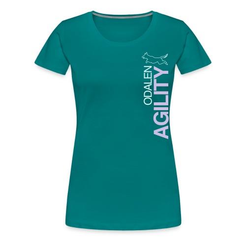 odalen agility blue1 - Women's Premium T-Shirt