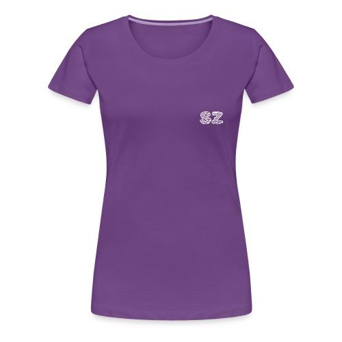SZ Letter Design - Women's Premium T-Shirt