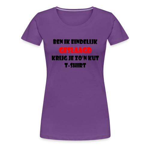 Geslaagd png - Vrouwen Premium T-shirt