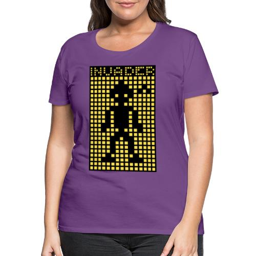 Invader (the greys) - Women's Premium T-Shirt