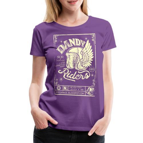 DANDY RIDERS - Maglietta Premium da donna