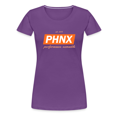 PHNX /#orange/ - Frauen Premium T-Shirt