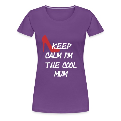 mum png - Frauen Premium T-Shirt
