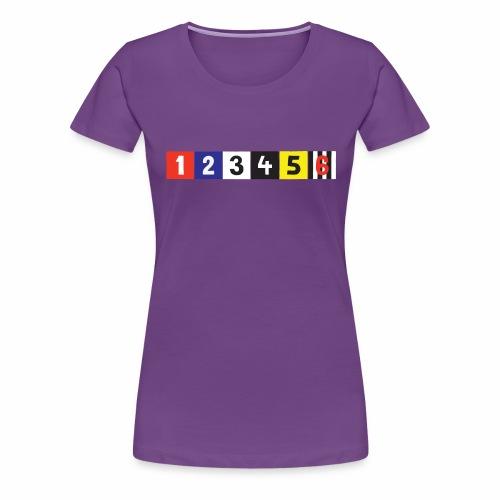 Manttelisarja Racing Coats - Naisten premium t-paita