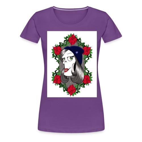 grumpette 15x20 - Women's Premium T-Shirt