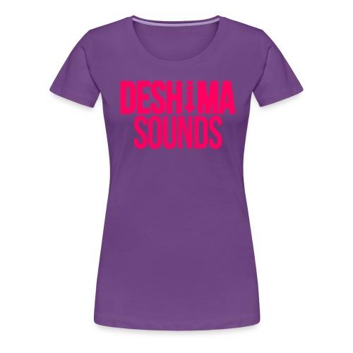 Pink png - Vrouwen Premium T-shirt