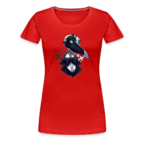 Shirk Bust - Women's Premium T-Shirt